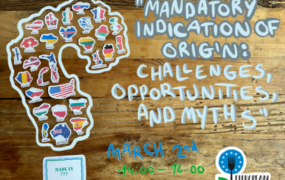 12. Mandatory indication of origin: challenges, opportunities and myths