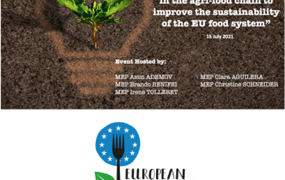 17. Innovation in the agri-food chain to improve the sustainability of the EU food system