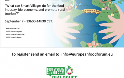 18. What can Smart Villages do for the food industry, bio-economy, and to promote rural tourism?