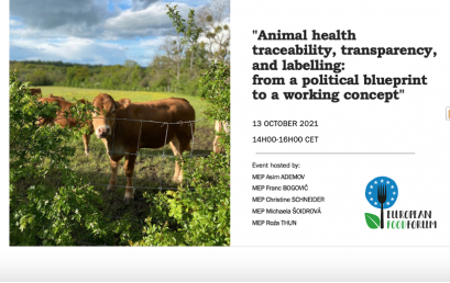 19. Animal health traceability, transparency, and labelling: from a political blueprint to a working concept